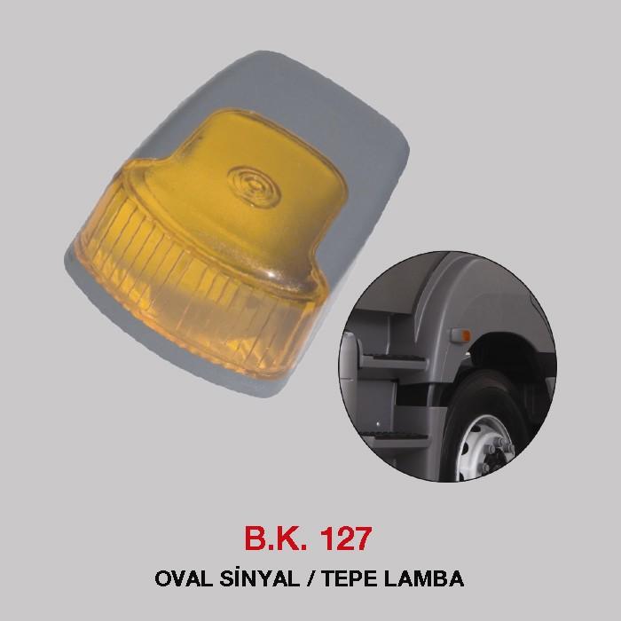 B.K 127 - OVAL SİNYAL / TEPE LAMBA