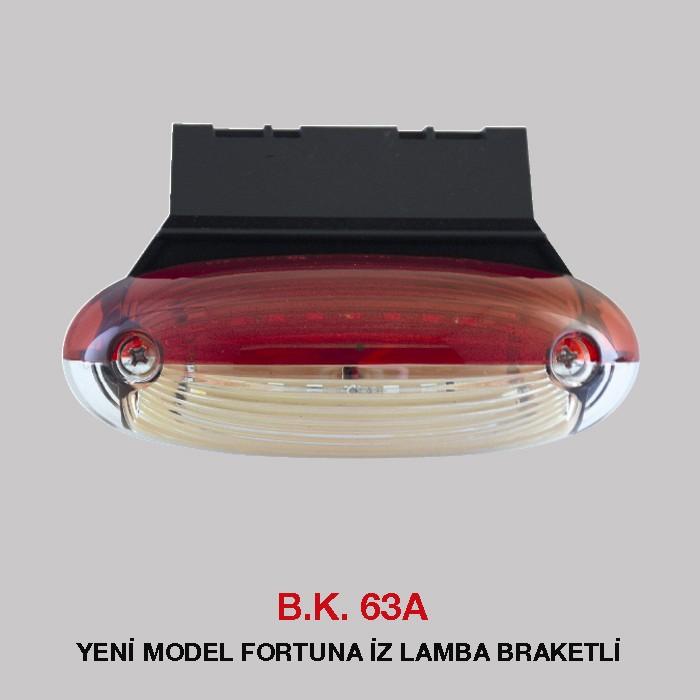 B.K 63A - YENİ MODEL FORTUNA İZ LAMBA BRAKETLİ