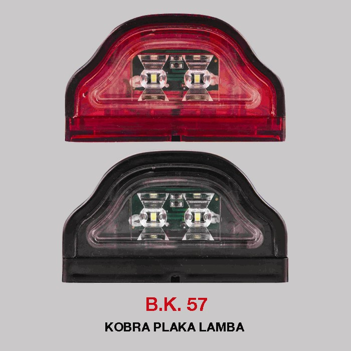 B.K 57 - KOBRA PLAKA LAMBA