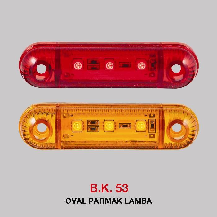 B.K 53 -  OVAL PARMAK LAMBA