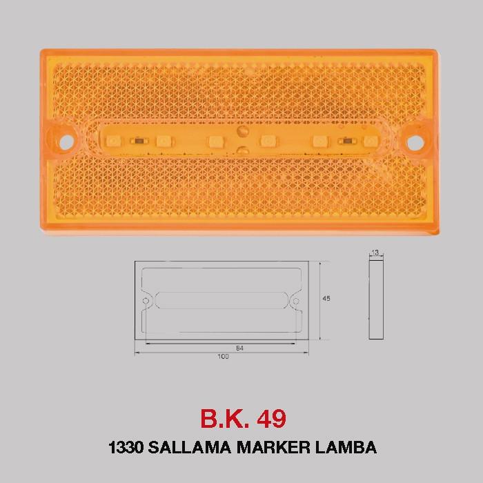 B.K 49 -  1330 SALLAMA MARKER LAMBA