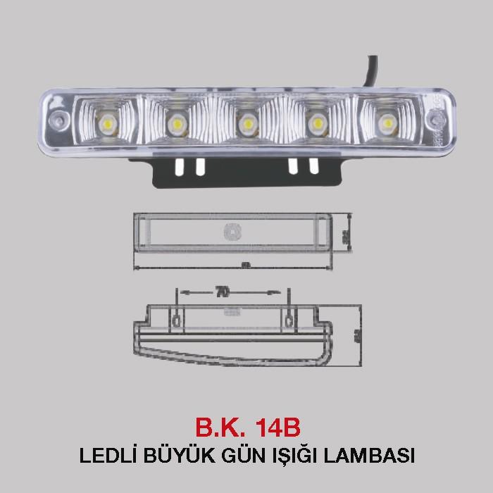 B.K 14B - LEDLİ BÜYÜK GÜN IŞIĞI LAMBASI