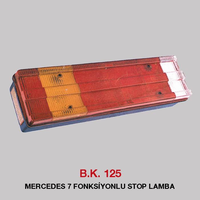 B.K 125 - MERCEDES 7 FONKSİYONLU STOP LAMBA