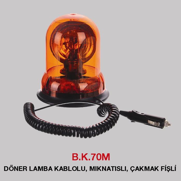 B.K 70M -DÖNER LAMBA KABLOLU, MIKNATISLI, ÇAKMAK FİŞLİ