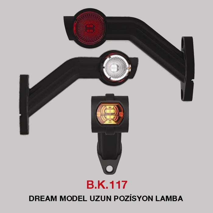 B.K.117 - DREAM MODEL UZUN POZİSYON LAMBA
