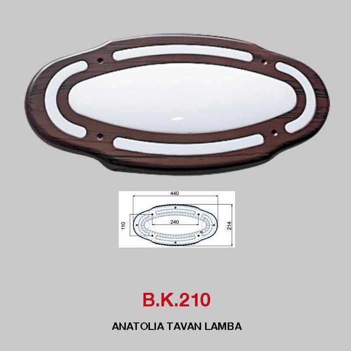B.K. 210 -  ANATOLIA TAVAN LAMBA