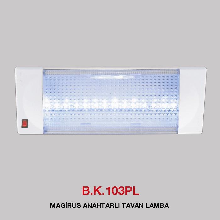 B.K. 103PL - MAGİRUS ANAHTARLI TAVAN LAMBA