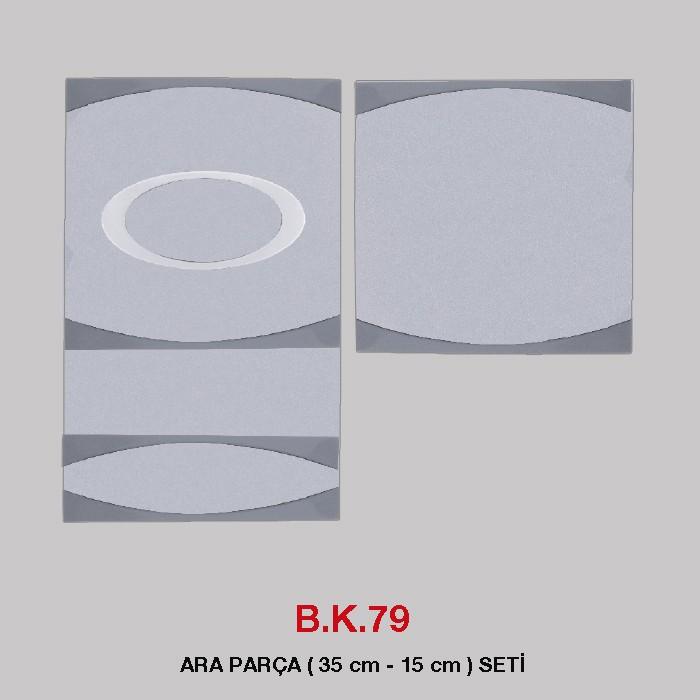 B.K 79 - OKUMA ARA PARÇA ( 35 cm - 15 cm) SETİ
