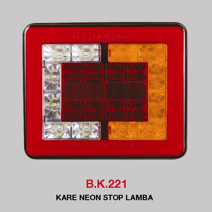 B.K 221 - KARE NEON STOP LAMBA