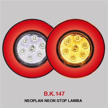 B.K 147 - NEOPLAN NEON STOP LAMBA