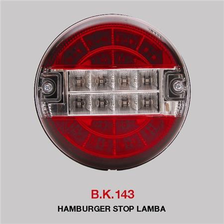 B.K 143 - HAMBURGER STOP LAMBA