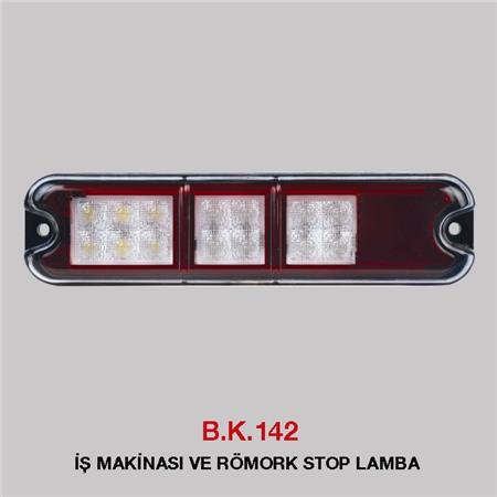 B.K 142 - İŞ MAKİNASI VE RÖMORK STOP LAMBA