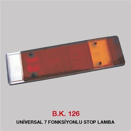 B.K 126 - UNİVERSAL 7 FONKSİYONLU STOP LAMBA