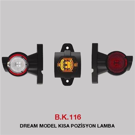 B.K 116 - DREAM MODEL KISA POZİSYON LAMBA