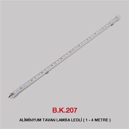 B.K. 213A -  ALİMİNYUM TAVAN LAMBA LEDLİ - ( 1 - 4 METRE )